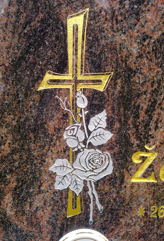 Ozdoby na pomníky a náhrobky Plzeň