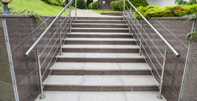 Kamenné schody Plzeň